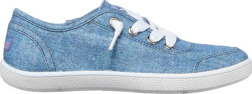 Girls' Skechers BOBS B Cute Love Everything Slip On Sneaker, Blue, large, image 2
