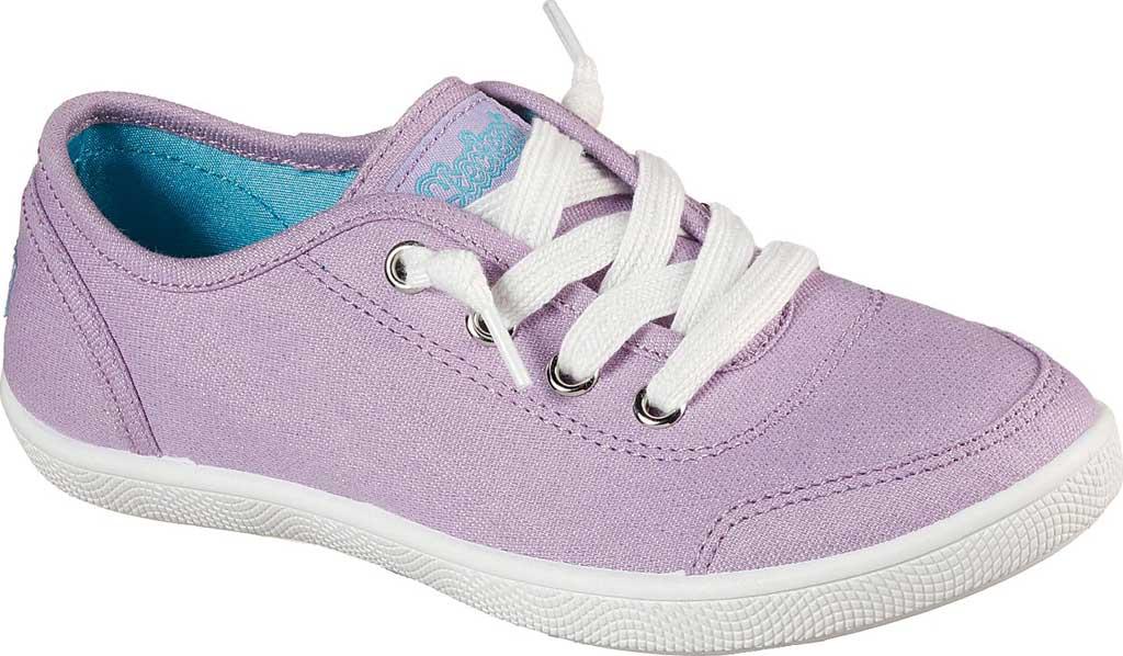 Girls' Skechers BOBS B Cute Love Everything Slip On Sneaker, Lavender, large, image 1
