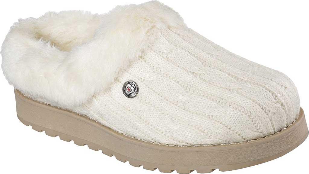 Women's Skechers BOBS Keepsakes Ice Angel Clog Slipper, , large, image 1