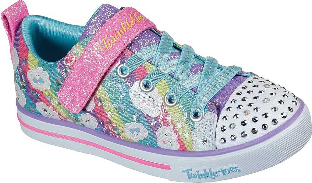 Girls' Skechers Sparkle Lite Rainbow Sparks Sneaker, Multi, large, image 1