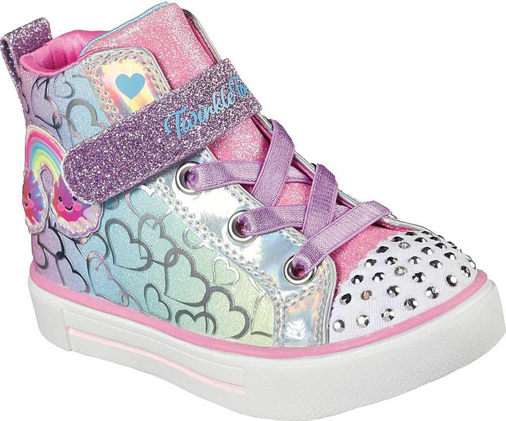 Infant Girls' Skechers Twinkle Toes Twinkle Sparks Magic Tastic Sneaker, Multi, large, image 1