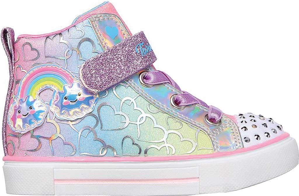 Infant Girls' Skechers Twinkle Toes Twinkle Sparks Magic Tastic Sneaker, Multi, large, image 2