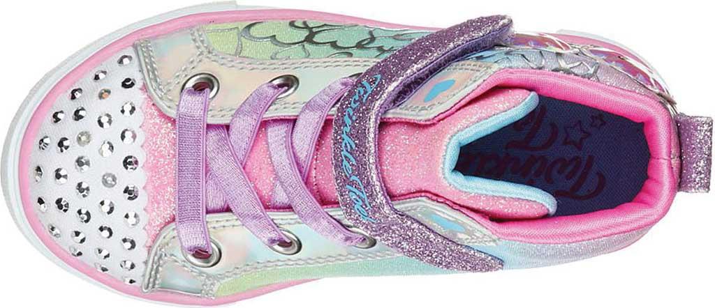 Infant Girls' Skechers Twinkle Toes Twinkle Sparks Magic Tastic Sneaker, Multi, large, image 5