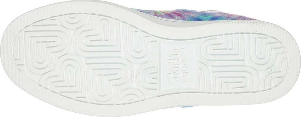 Girls' Skechers Twinkle Toes Sparkle Rayz Groovy Dreamz Sneaker, Lavender/Multi, large, image 6