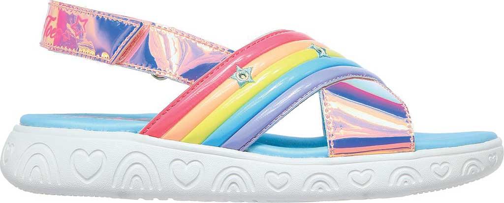 Girls' Skechers Twinkle Toes: Rainbow Shines, Multi, large, image 2