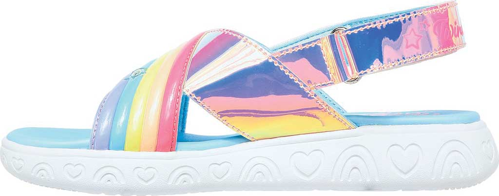 Girls' Skechers Twinkle Toes: Rainbow Shines, Multi, large, image 3
