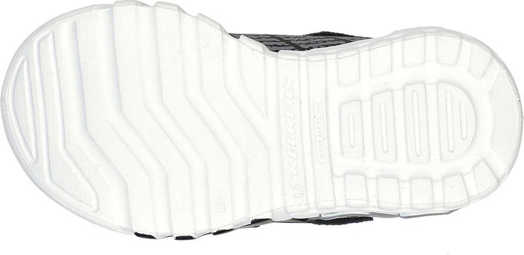 Infant Boys' Skechers S-Lights Flex Glow Elite Sneaker, Black/Gray, large, image 5