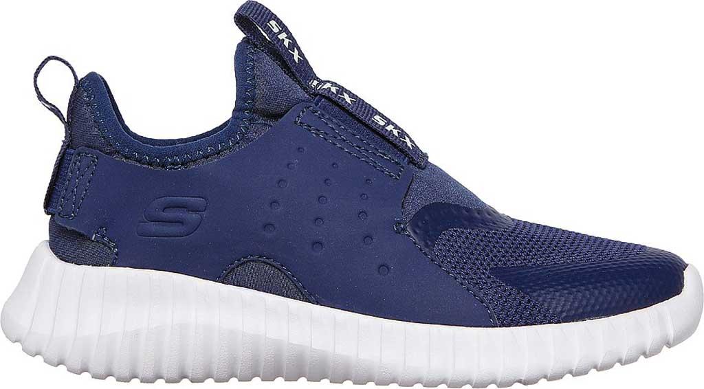 Boys' Skechers Elite Flex Rolvo Slip On Sneaker, Navy, large, image 2