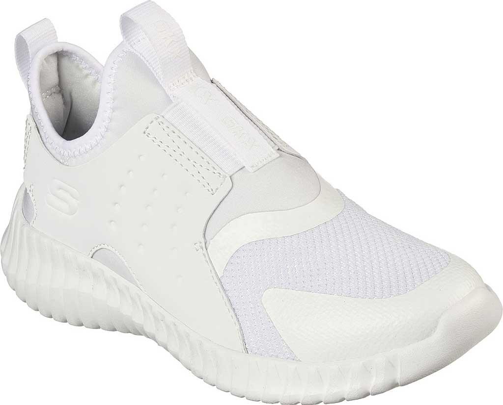 Boys' Skechers Elite Flex Rolvo Slip On Sneaker, White, large, image 1