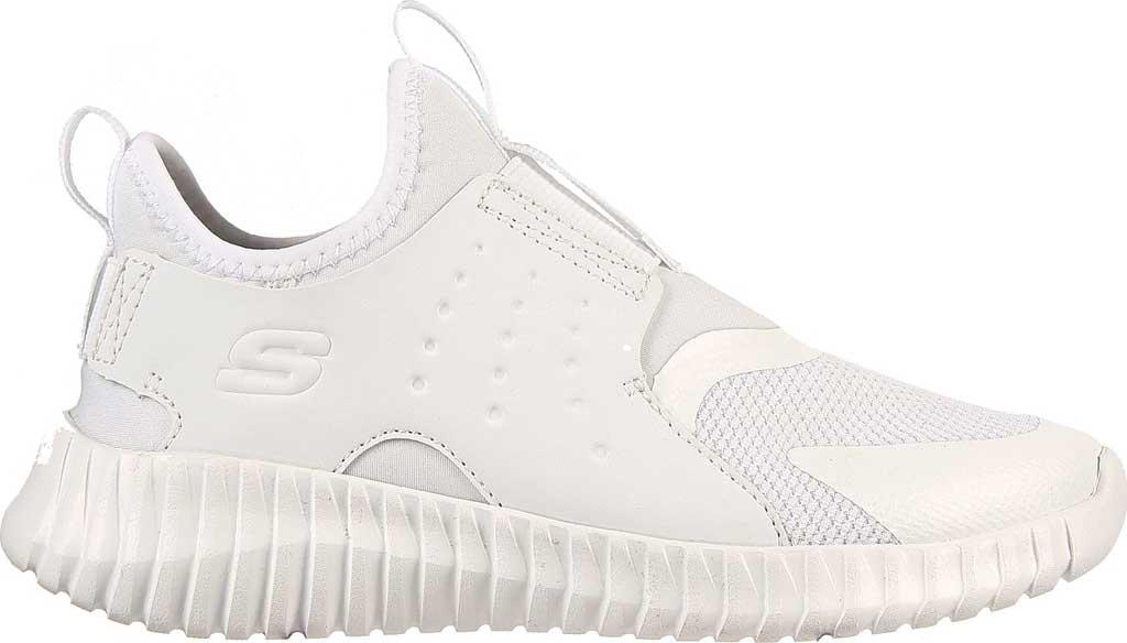 Boys' Skechers Elite Flex Rolvo Slip On Sneaker, White, large, image 2