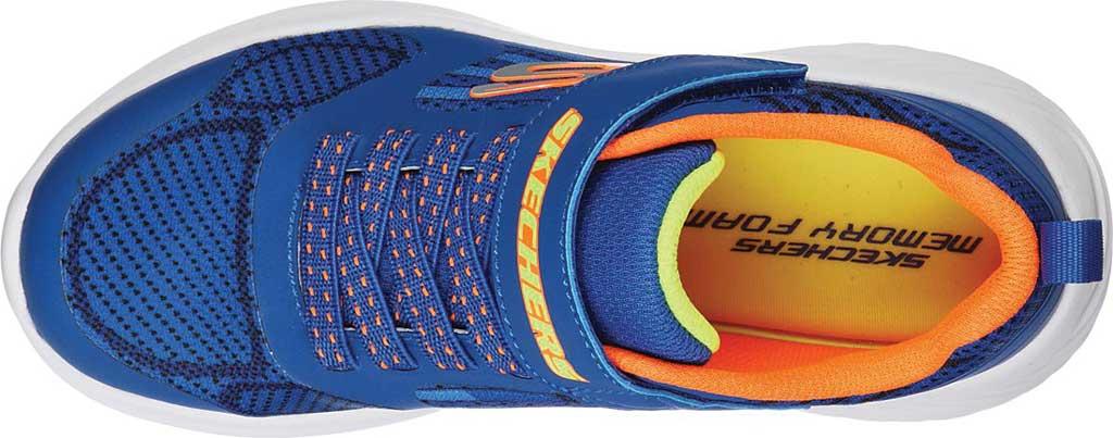 Boys' Skechers Bounder Gorven Sneaker, Royal/Orange, large, image 5