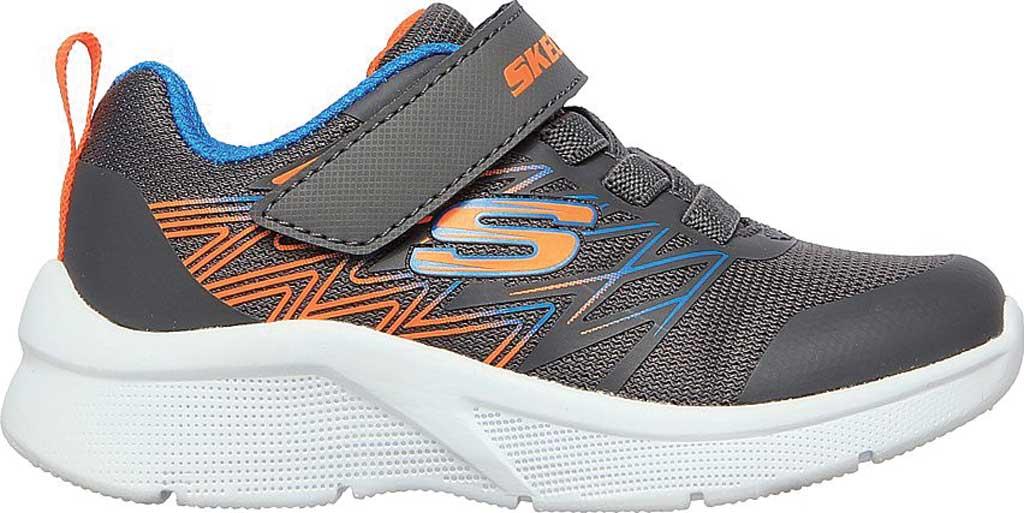 Infant Boys' Skechers Microspec Texlor Sneaker, Gray/Blue, large, image 2
