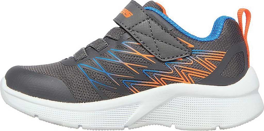 Infant Boys' Skechers Microspec Texlor Sneaker, Gray/Blue, large, image 3