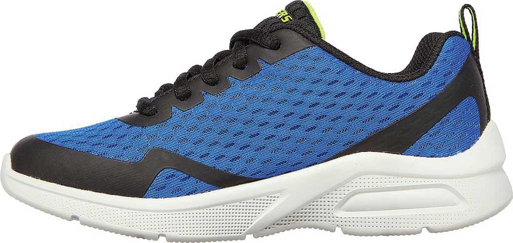Boys' Skechers Microspec Max Sneaker, Royal/Black, large, image 3