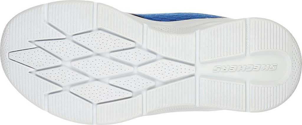 Boys' Skechers Microspec Max Sneaker, Royal/Black, large, image 5