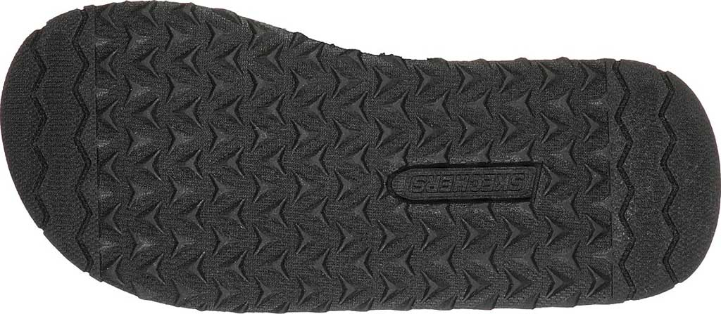 Boys' Skechers Tantric Dreddex Flip Flop, Charcoal, large, image 6