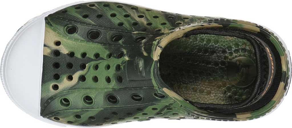 Infant Boys' Skechers Foamies Guzman Steps Solar Surge Sneaker, Camouflage, large, image 4