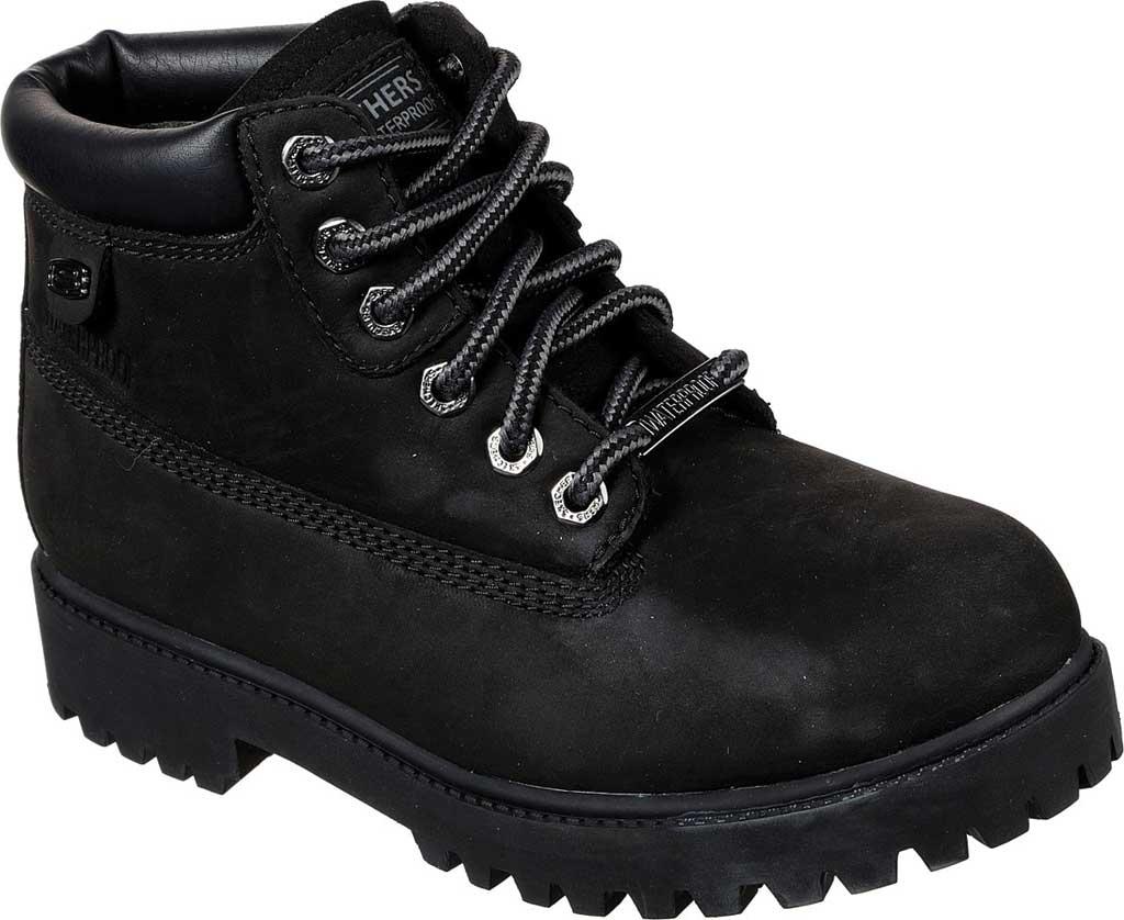 Women's Skechers Sergeants Verdict Chick Ankle Boot, Black, large, image 1