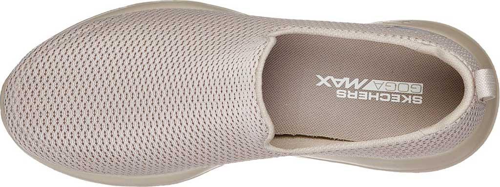 Men's Skechers GOwalk Max Slip-On Walking Shoe, Taupe, large, image 4
