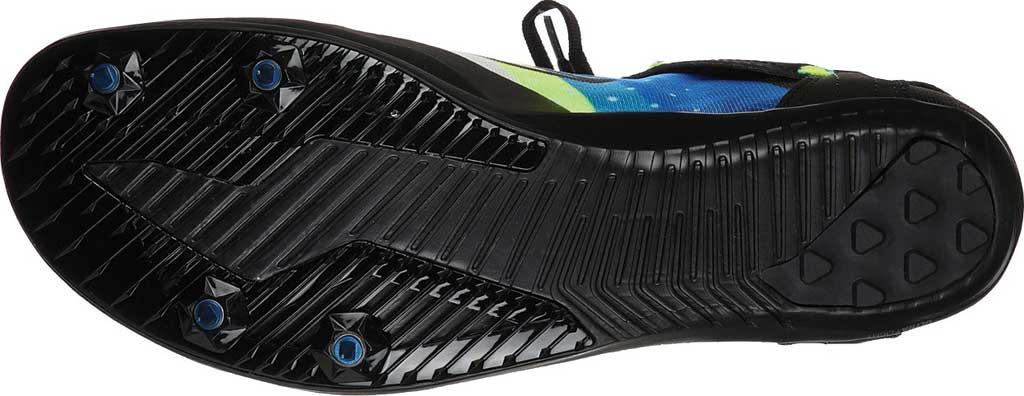 Men's Skechers GOrun Speed XCS Ultra Sneaker, Black/Blue, large, image 5