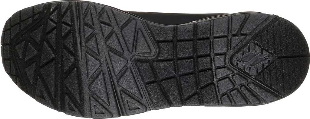 Women's Skechers Uno Stand on Air Sneaker, Black/Black, large, image 5