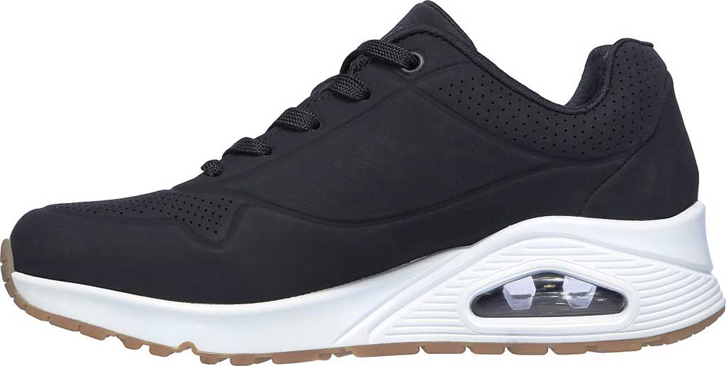 Women's Skechers Uno Stand on Air Sneaker, Black, large, image 3