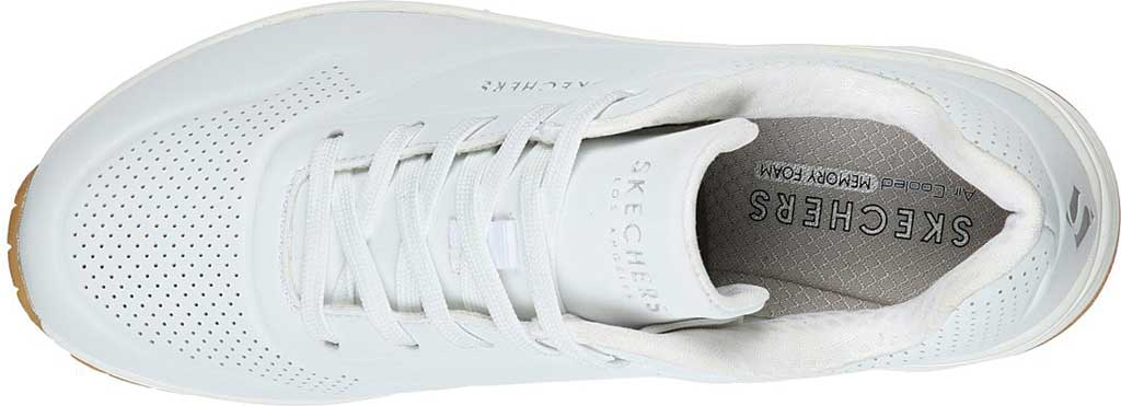 Women's Skechers Uno Stand on Air Sneaker, White, large, image 4