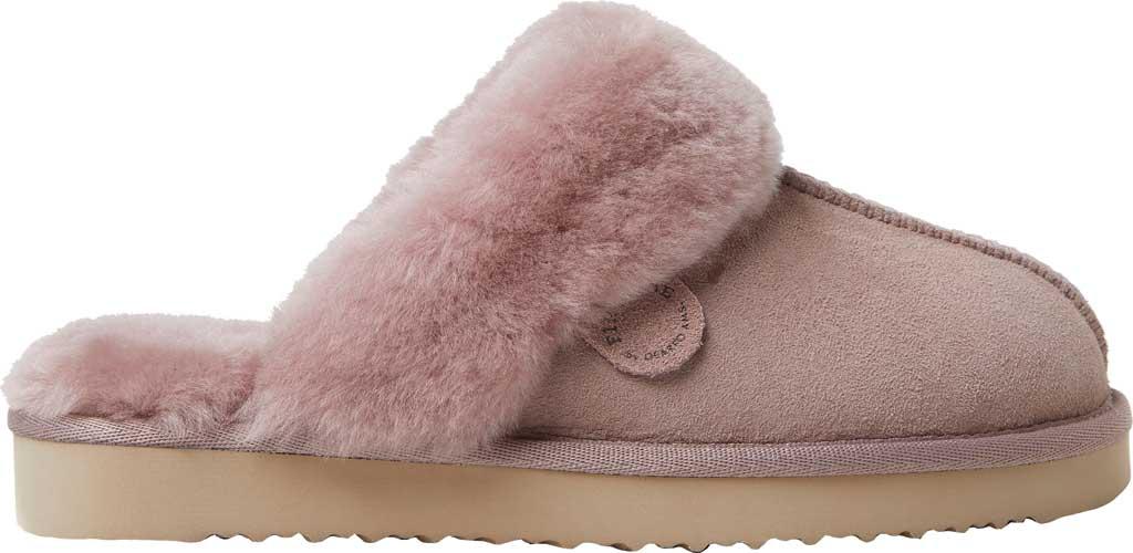 Women's Original Comfort by Dearfoams Sydney Scuff Slipper, Dusty Pink, large, image 2