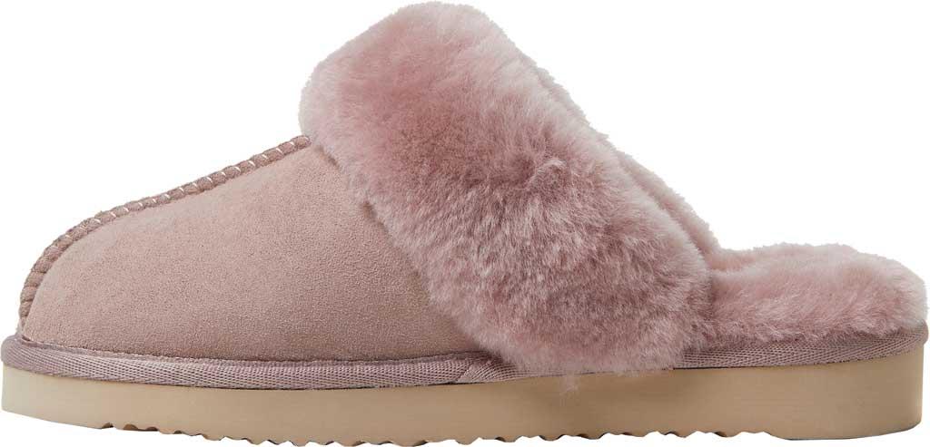 Women's Original Comfort by Dearfoams Sydney Scuff Slipper, Dusty Pink, large, image 3