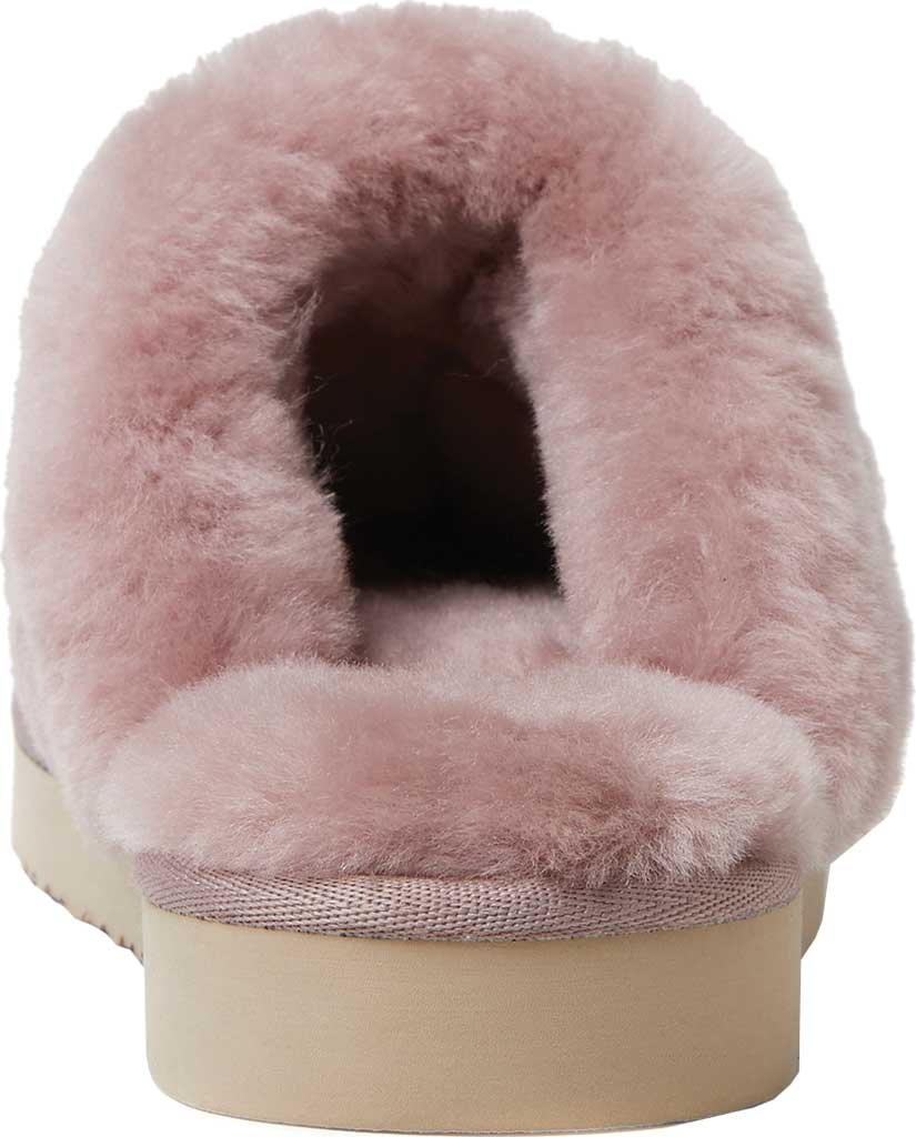 Women's Original Comfort by Dearfoams Sydney Scuff Slipper, Dusty Pink, large, image 4