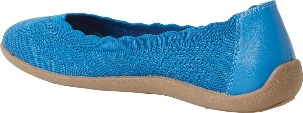 Women's Original Comfort by Dearfoams Misty Knit Ballet Flat, Classic Blue Knit Synthetic, large, image 3
