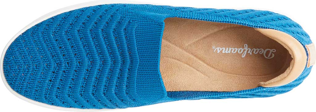 Women's Original Comfort by Dearfoams Sophie Slip On Sneaker, Classic Blue Synthetic, large, image 4