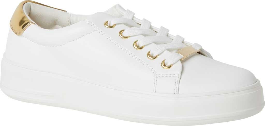 Women's Original Comfort by Dearfoams Tegan Sneaker, White Synthetic, large, image 1