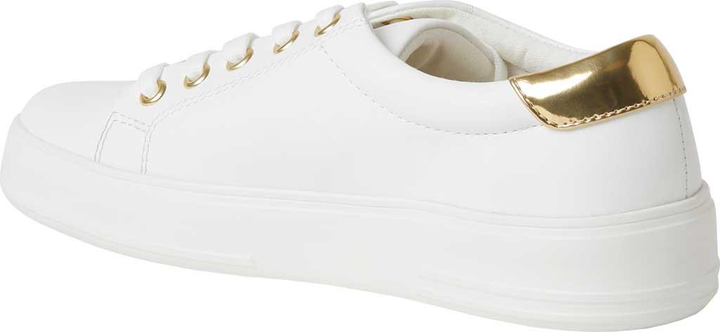 Women's Original Comfort by Dearfoams Tegan Sneaker, White Synthetic, large, image 3