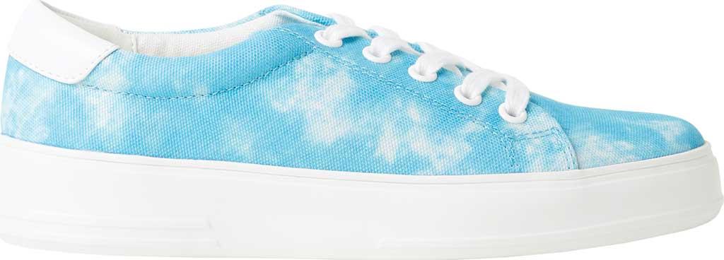 Women's Original Comfort by Dearfoams Tegan Sneaker, Blue Tie Dye Synthetic, large, image 2