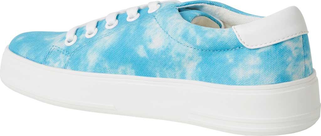 Women's Original Comfort by Dearfoams Tegan Sneaker, Blue Tie Dye Synthetic, large, image 3