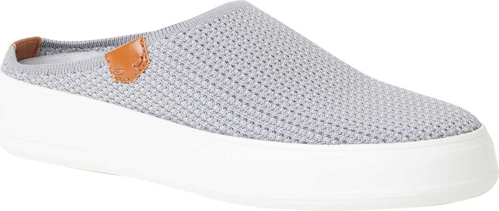 Women's Original Comfort by Dearfoams Annie Knit Clog Sneaker, Medium Grey Knit Synthetic, large, image 1