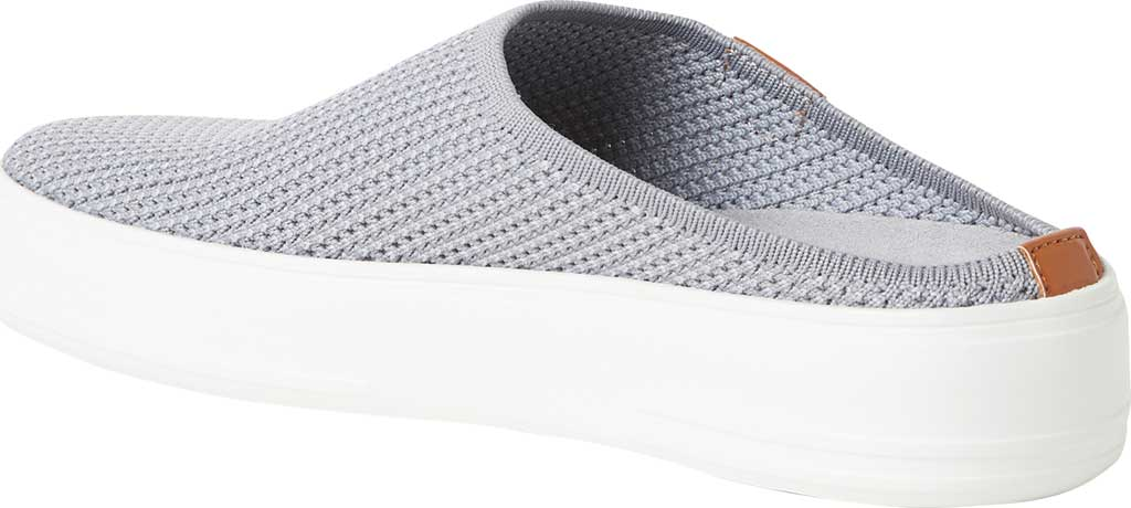 Women's Original Comfort by Dearfoams Annie Knit Clog Sneaker, Medium Grey Knit Synthetic, large, image 3