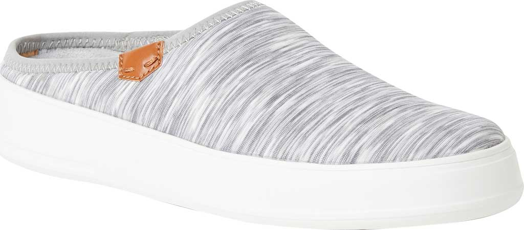 Women's Original Comfort by Dearfoams Annie Knit Clog Sneaker, Light Heather Grey Knit Synthetic, large, image 1
