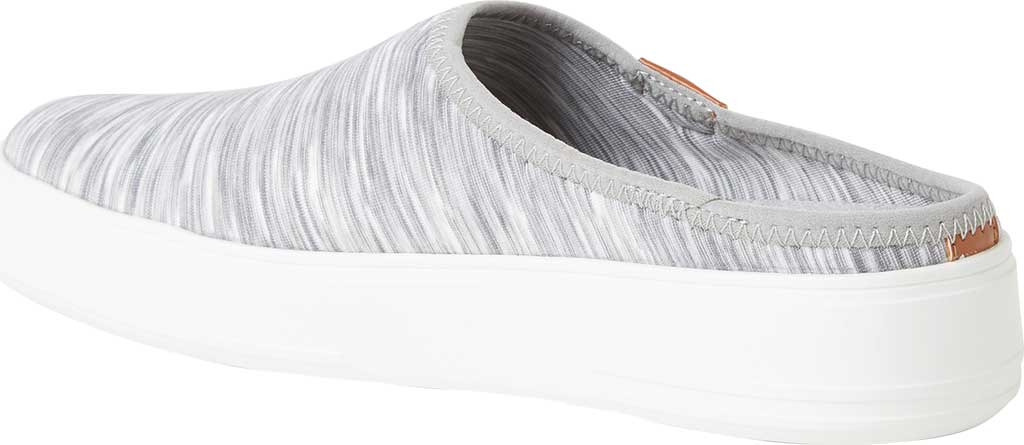 Women's Original Comfort by Dearfoams Annie Knit Clog Sneaker, Light Heather Grey Knit Synthetic, large, image 3