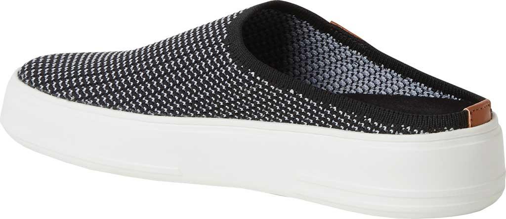 Women's Original Comfort by Dearfoams Annie Knit Clog Sneaker, Black Knit Synthetic, large, image 3