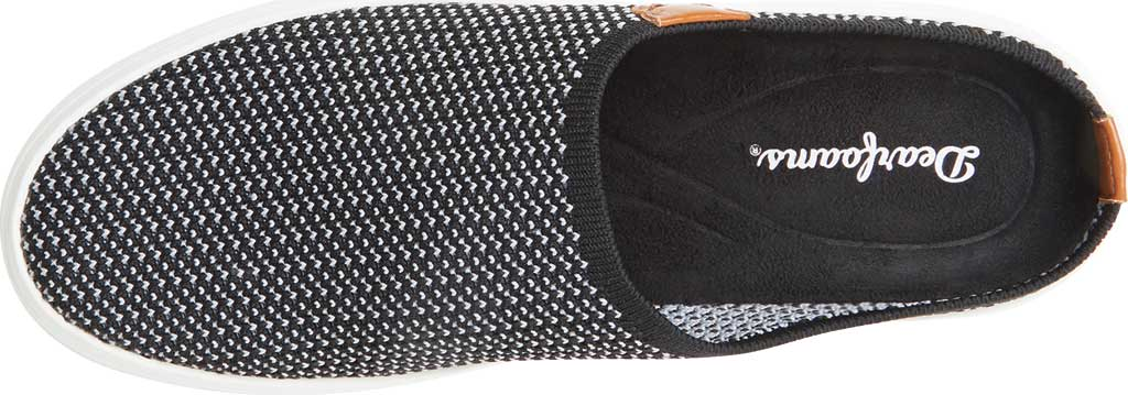 Women's Original Comfort by Dearfoams Annie Knit Clog Sneaker, Black Knit Synthetic, large, image 4