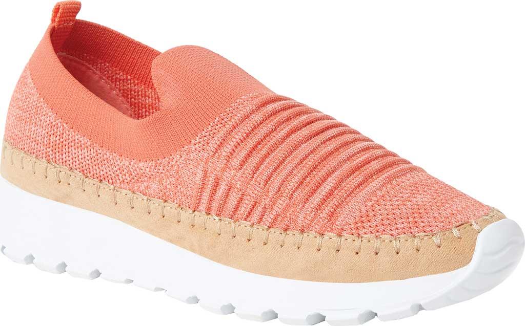 Women's Original Comfort by Dearfoams Marina Knit Platform Slip On Sneaker, Fiesta Knit Synthetic, large, image 1