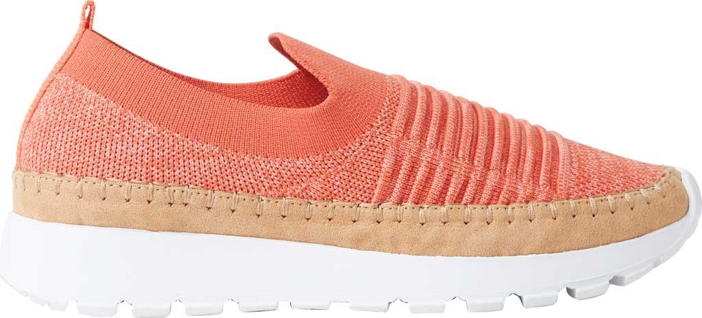 Women's Original Comfort by Dearfoams Marina Knit Platform Slip On Sneaker, Fiesta Knit Synthetic, large, image 2