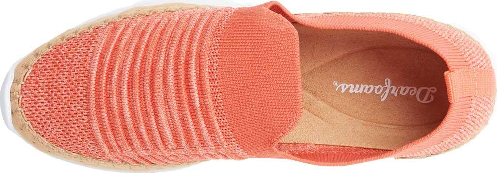 Women's Original Comfort by Dearfoams Marina Knit Platform Slip On Sneaker, Fiesta Knit Synthetic, large, image 4