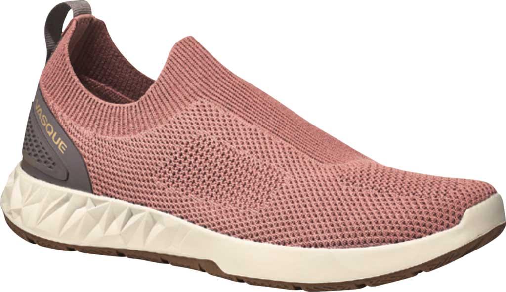 Women's Vasque Satoru Moc Slip On Hiking Sneaker, Ash Rose Knit Mesh, large, image 1