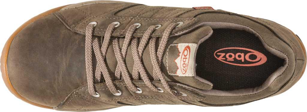 Men's Oboz Mendenhall Casual Sneaker, Tarmac, large, image 3