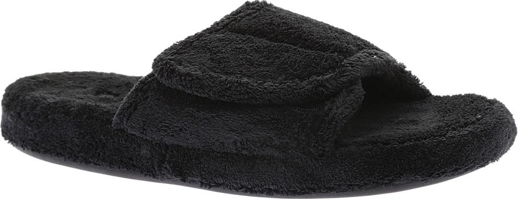 Men's Acorn Spa Slide, Black, large, image 1