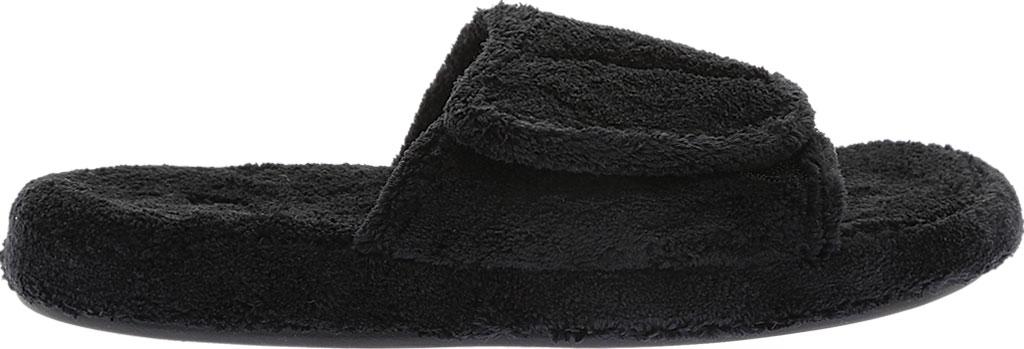 Men's Acorn Spa Slide, Black, large, image 2