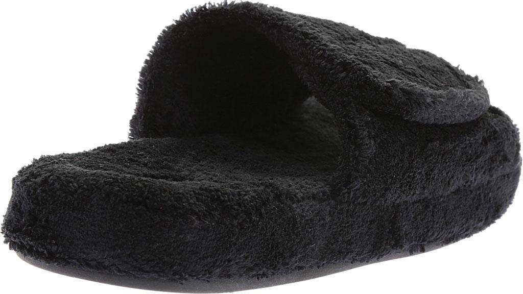 Men's Acorn Spa Slide, Black, large, image 4